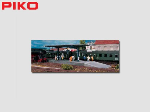 BURGSTEIN PLATFORM - PIKO HO SCALE MODEL TRAIN ACCESSORIES 61821