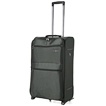 X Large 29'' Super Lightweight Luggage Suitcase (9980 Black)