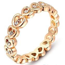 Rings for love finger rings Sweet Heart Ring Wedding 19 Likes Party JewelryALRG0247GO
