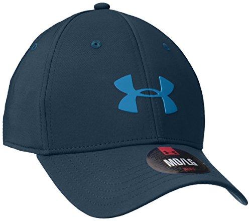 Under Armour UA Headline Sportswear Stretch Fit Cap, Uomo, Sportswear UA Headline Stretch Fit Cap, Nova Teal, L/XL