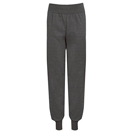 Be Jealous Damen Trainingsanzug Hose Fleece Jogginghose Oder Sweatshirt Übergröße - 44-46, Dunkelgrau Hose
