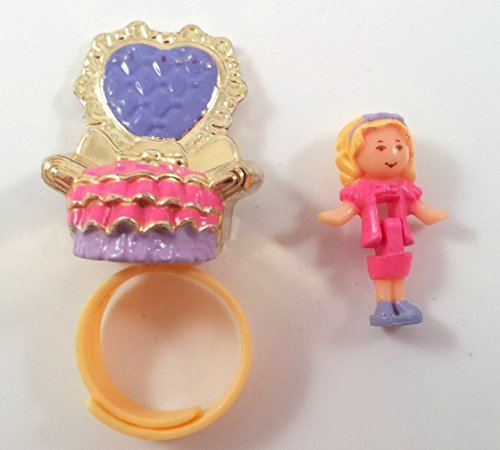 1993 Bluebird Polly Pocket ROYAL THRONE RING Complete (Self Contained Doll House compare prices)