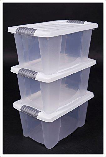 3x-Multibox-mit-Deckel-in-wei-40-x-30-x-20-cm-3er-Set-stapelbare-Boxen
