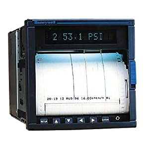 Honeywell DPR100 100-mm Continuous Pen Chart Recorder, 2 channels