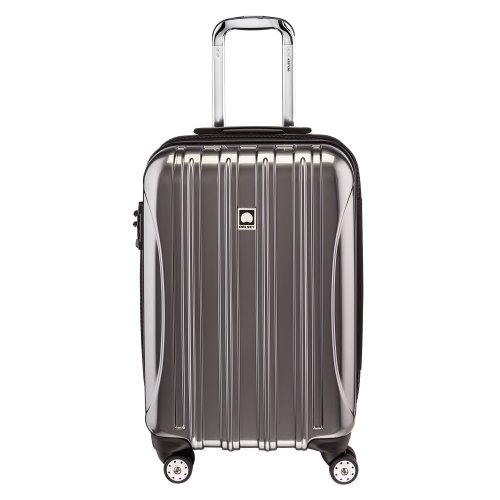 Delsey Luggage Helium Aero Carry-On Spinner Trolley, Titanium, One Size (Delsey Luggage Helium Trolley compare prices)