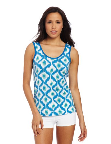Exofficio Women s Go-To Diamond Tank Top South Pacific Small