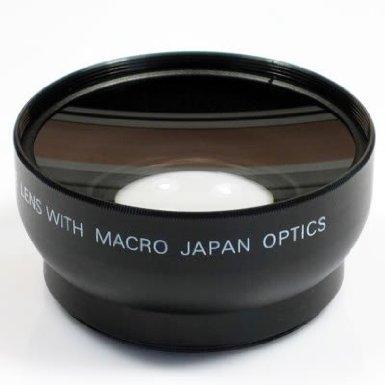 Henweit 0.45x 52mm Weitwinkel-Objektiv mit Makro für Nikon D90, D300, D300S, D3, D3X, D5000, D3100, D3000, D80, D100, D200, D40, D50, D60, D70, D700, D7000, 18-55mm