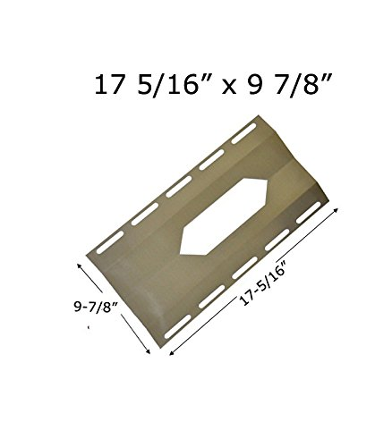 Stainless Heat Plate for Costco Models, Nexgrill, Virco, Sterling Forge and Harris Teeter Gas Grill Models