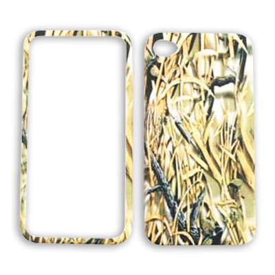 Apple iPhone 4 (AT&T/Verizon) Camo / Camouflage Hunter iPhone 4 Hard Case/Cover/Faceplate/Snap On/Housing/Protector
