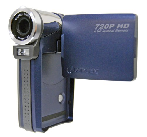 Aiptek Hi-Speed HD 720P Camcorder with Built-in 2GB Storage