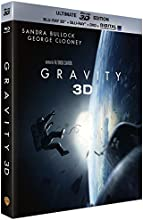 Gravity - Oscar® 2014 du Meilleur Réalisateur - Blu-Ray 3D + Blu-ray + DVD + Digital Ultraviolet (Ultimate Edition) [Ultimate Edition - Blu-ray 3D + Blu-ray + DVD + Copie digitale]