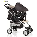 Hauck Shopper 6 Shop'n Drive Travel System - Happy Beige