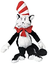 Plush Dr. Seuss Cat in The Hat - Medium