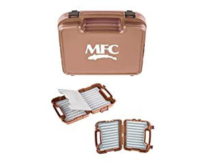 MFC Boat Box, Burnt Orange, Large Fly Foam by MFC