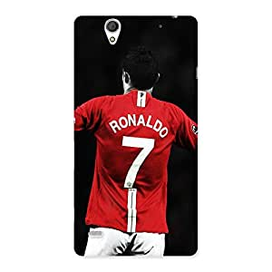 Number Seven T Back Case Cover for Sony Xperia C4