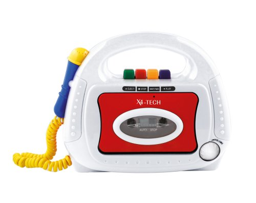 X4-Tech-Bobby-Joey-Kinder-Kassettenspieler