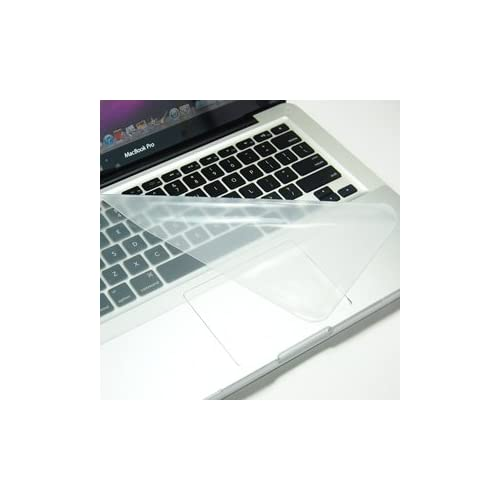 COSMOS ® Clear Ultra Thin silicone Soft keyboard Cover Skin for Aluminum Unibody Macbook Pro 13.3 15 Macbook White + Cosmos cable tie