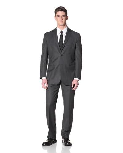 Yves Saint Laurent Men's Birdseye Suit  [Charcoal]