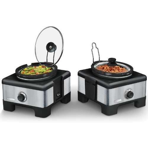 2 X 2.5QT LINX Serve and Store Slow Cooker