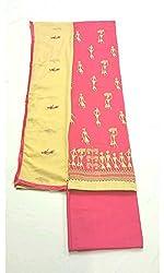 BEAUVILLE VAIIBAVAM Women's Unstiched Salwar Material (BVPCUC_96_Multi_Free Size)
