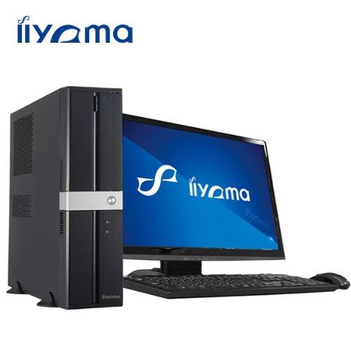 iiyama PC SL5010-i3-CZM[Windows 8.1搭載]モニタ別売 (Core i3-4160/500GB/4GB/DVD MULTI) デスクトップパソコン