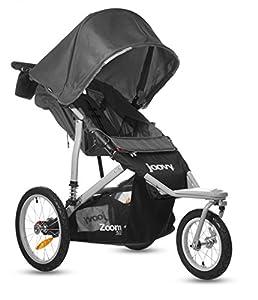 Joovy Zoom 360 Swivel Wheel Jogging Stroller, Black