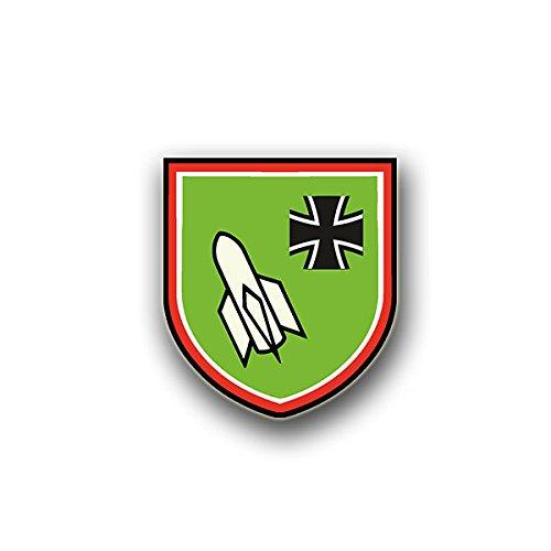 Aufkleber / Sticker - PanzerjägerKP Rak30 Sticker Aufkleber PzJgKp Kompanie Rak Rakete Wappen Abzeichen Emblem Bundeswehr passend für Opel Astra VW Golf GTI 3er BMW Mercedes 7x6cm #A800