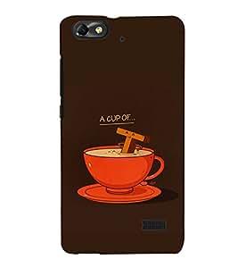EPICCASE Funny tea cup Mobile Back Case Cover For Xiaomi Redmi Mi4c (Designer Case)