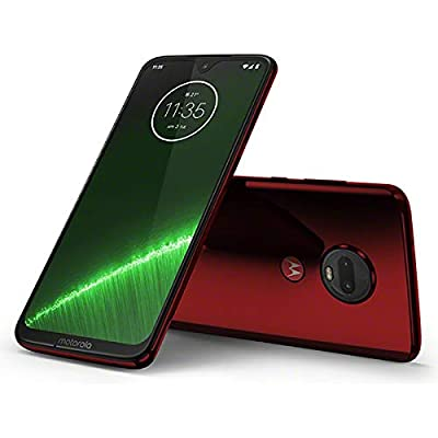 Motorola(モトローラ) Moto G7 Plus ビバレッド[6.24インチ メモリ 4gb ストレージ 64gb] Padu0002jp