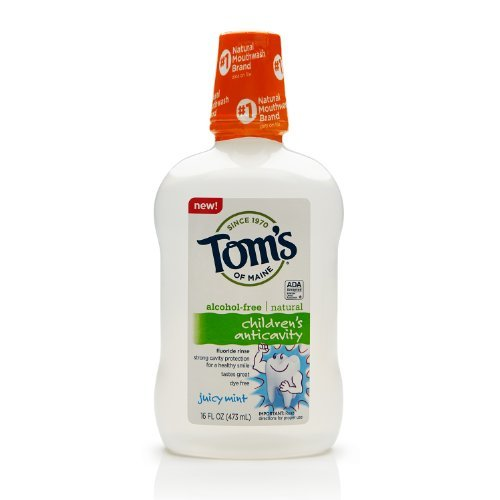 toms-of-maine-childrens-anticavity-fluoride-rinse-juicy-mint-16-ounce-by-toms-of-maine