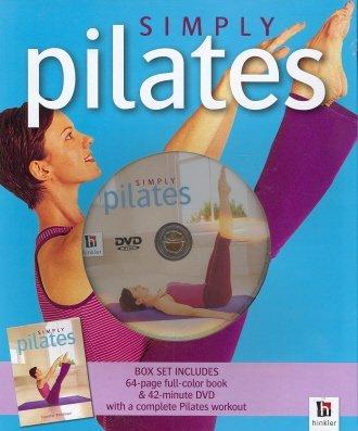 Simply Pilates Box Set 64 Page Book/ 42 Min DVD by Jennifer Poliman
