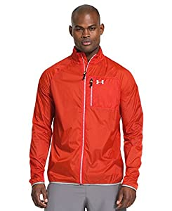 Under Armour UA CGI Chrome Lite Coupe vent Homme Volcano/Reflective FR : S (Taille Fabricant : SM)
