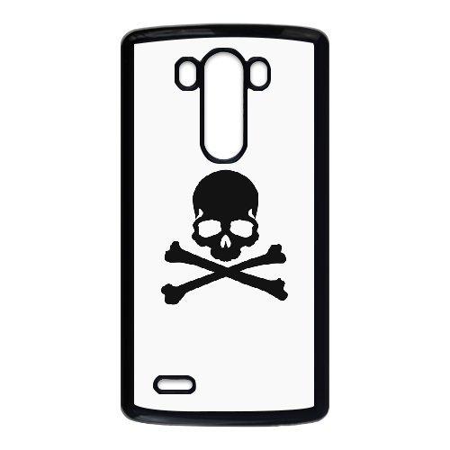 Custom personalized Case-LG G3-Phone Case skull logo Design your own cell Phone Case skull logo