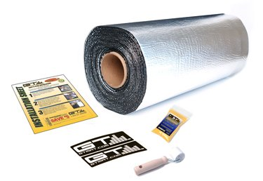 =>  GTMAT 110 10 sqft Automotive Constrained Layer Damper Dampening Deadening Resonance Dampening 110 Super Thick - Noise Sound Deadener Installation Kit Includes: 10sqft Roll (36in x 3'5