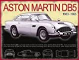 FRENCH VINTAGE METAL SIGN 20x15cm JAMES BOND DB5 ASTON MARTIN