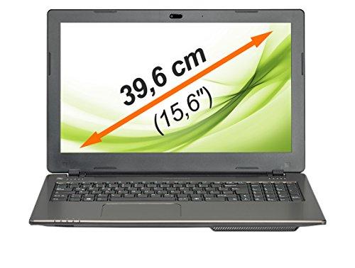 MEDION AKOYA E6237 (MD 99017) 39,6 cm (15,6 Zoll) Notebook (Intel Core i3-3110M, 2,40 GHz, 8GB RAM, 1TB HDD, Win. 8.1) silber