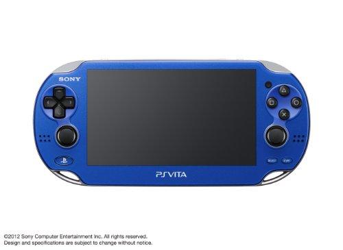 PlayStationVita 3G/Wi-Fiモデル サファイア・ブルー 限定版 (1100 AB04)