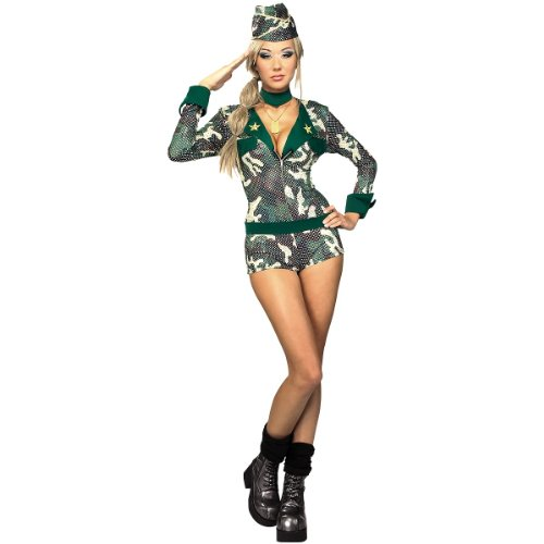 Army Girl Sexy Womens Costume Adult Halloween Outfit ? XSmall Dress Size 0-2  sc 1 st  girl halloween costume & Best Buy Army Girl Sexy Womens Costume Adult Halloween Outfit ...