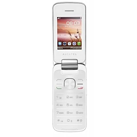 T�l�phone GSM ALCATEL ONE TOUCH 2010D BLANC