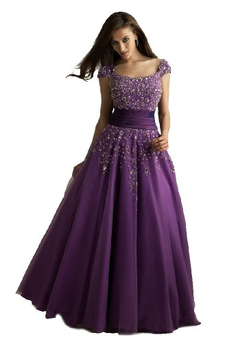 modest prom dresses night moves modest purple prom dress