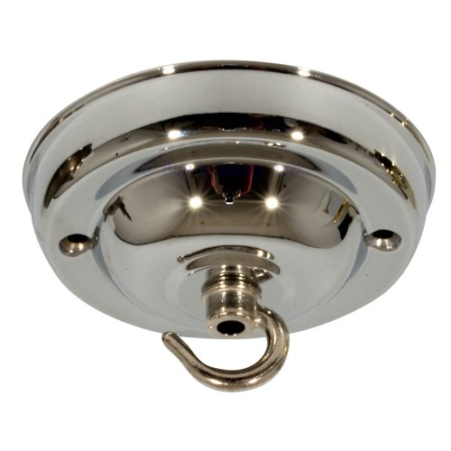 Ceiling Rose For Light Fittings & Chandeliers Chrome Plated