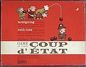Coup D'Etat Card Game