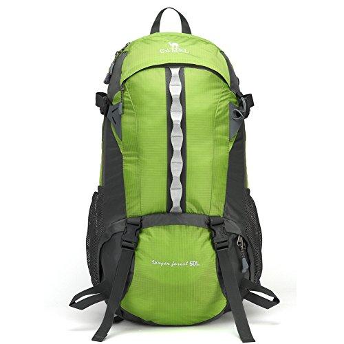 Sac d'escalade en plein air / sac de Voyage / sac à dos / randonnée sac Loisirs-vert 50L