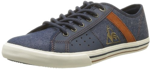 Le Coq Sportif Mens Saint Malo 2 Denim/Suede Trainers