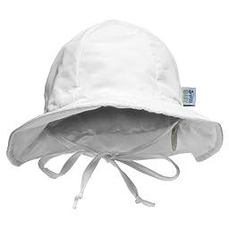 My Swim Baby Sun Hat, White, Large
