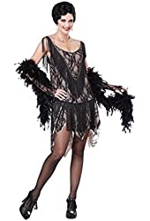 California Costumes Women's California Costumes Gatsby Gal Costume Dress