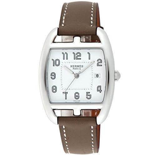 [エルメス]HERMES 腕時計 ケープコッドトノー ホワイト文字盤 カーフ革ベルト CT1.710.130.WW18 レディース 【並行輸入品】