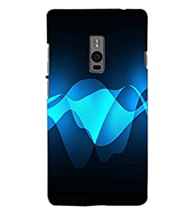 ONE PLUS TWO WAVE Back Cover by PRINTSWAG