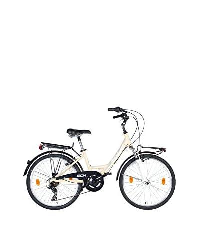 SCH Bicicleta Sweet All. 26″ 7V. Shimano Crema / Gris