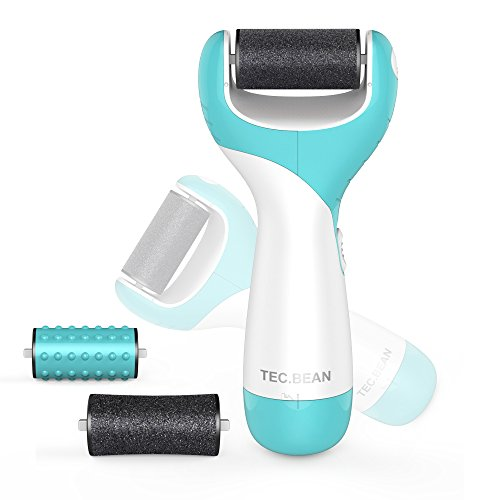 Electronic Foot File Professional Pedicure Tools Foot Care Callus Remover for Dead Hard Cracked Skin on Feet Include 2 Mineral Pumice Stone Rollers and Massage Roller Head (Callus On Toes Remover compare prices)